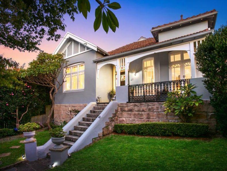 SOLD 49 Reynolds Street, Cremorne, NSW